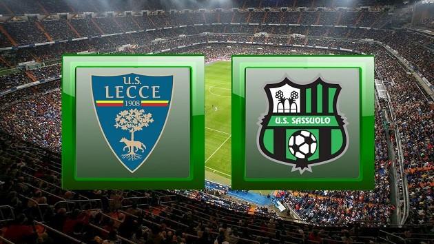 Soi kèo nhà cái tỉ số Sassuolo vs Lecce, 05/7/2020 - VĐQG Ý [Serie A]