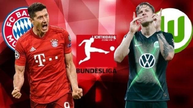 Soi kèo nhà cái tỉ số Wolfsburg vs Bayern Munich, 27/6/2020 - Giải VĐQG Đức