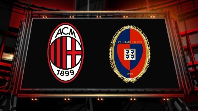 Soi kèo nhà cái tỉ số AC Milan vs Cagliari, 02/8/2020 - VĐQG Ý [Serie A]