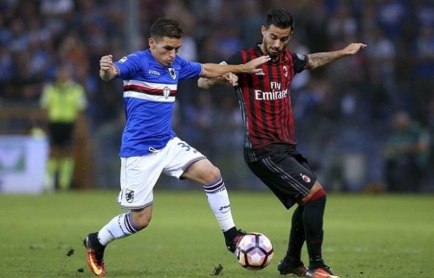 Soi kèo nhà cái tỉ số Sampdoria vs AC Milan, 29/7/2020 - VĐQG Ý [Serie A]