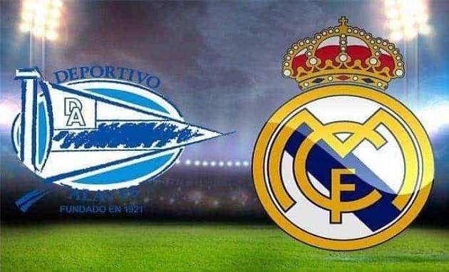 Soi kèo nhà cái tỉ số Real Madrid vs Deportivo Alavés, 08/7/2020 - VĐQG Tây Ban Nha