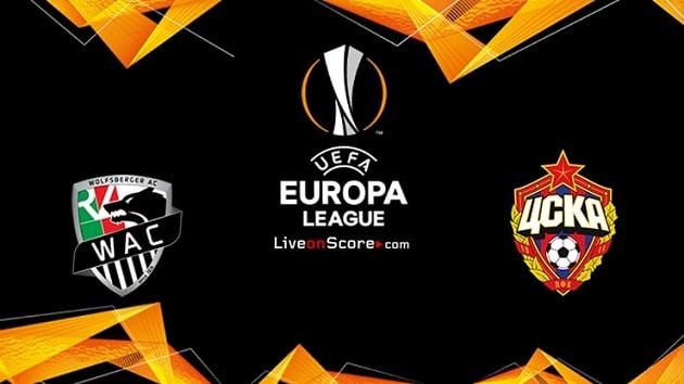 Soi kèo nhà cái tỉ số Wolfsberger AC vs CSKA Moscow, 23/10/2020 - Cúp C2 Châu Âu