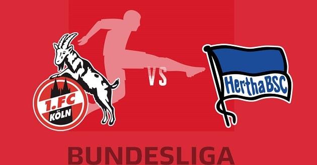 Soi kèo nhà cái tỉ số FC Koln vs Hertha Berlin, 16/1/2021 - VĐQG Đức [Bundesliga]