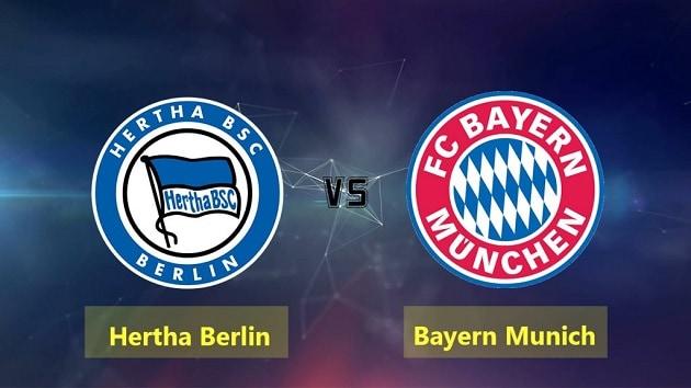 Soi kèo nhà cái tỉ số Hertha Berlin vs Bayern Munich, 6/2/2021 - VĐQG Đức [Bundesliga]