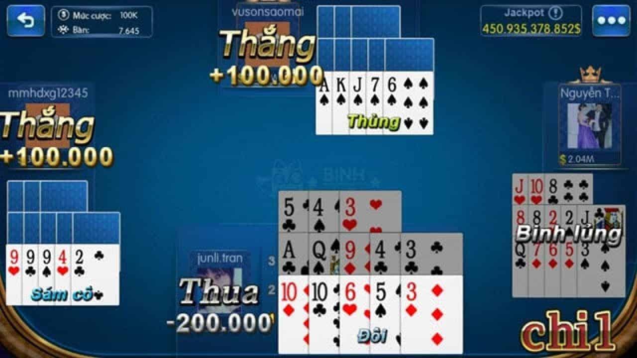 Chiến thuật chơi bài cho các tay chơi mậu binh online