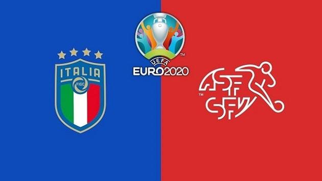 Soi kèo nhà cái tỉ số Ý vs Thụy Sĩ, 17/06/2021 - Euro